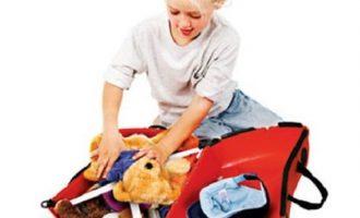 Dječji koferi su odlična pomoć na dugim putovanjima